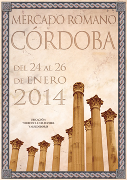 Cartaz do Mercado Romano de Córdoba 2014
